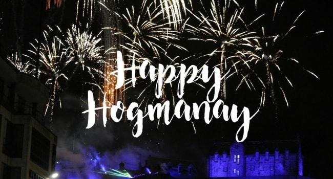 Happy Hogmanay Scotland