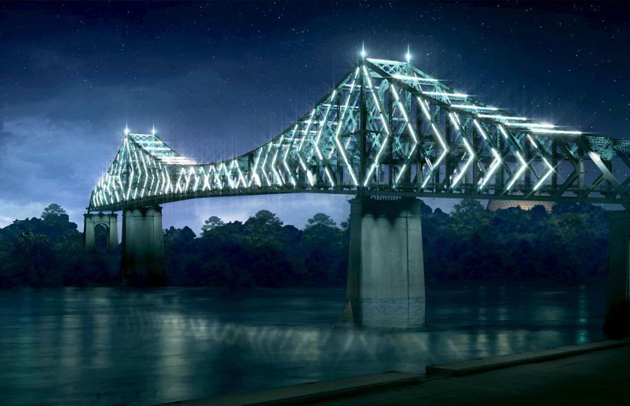 pont jacques cartier illuminé montreal