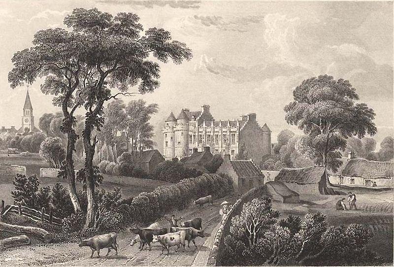 Falkland Palace Swan 1840s Wikimedia