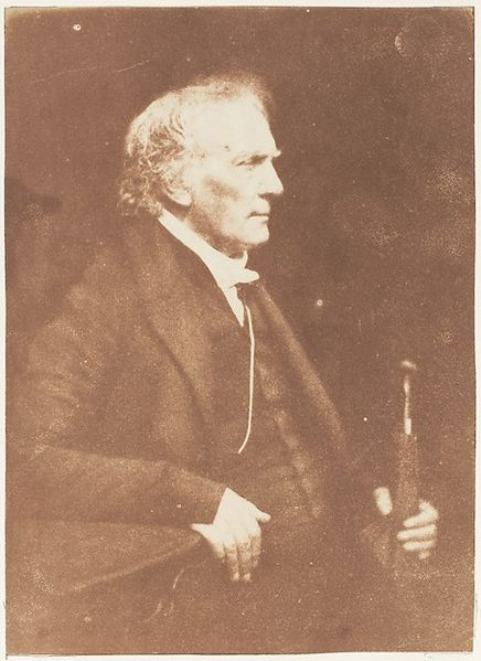 Rev Thomas Chalmers (1780-1847) by Hill and Adamson