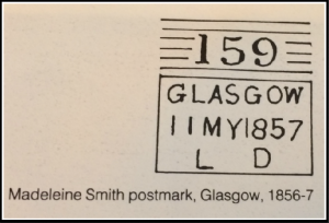Postmarks Glasgow Madeleine Smith Murder Case