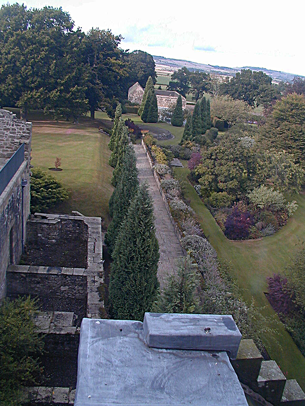 A general view of Falkland Palace Garden © 2003 Scotiana