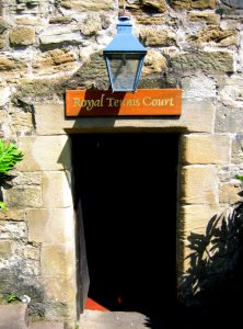 falkland palace tennis court scotland