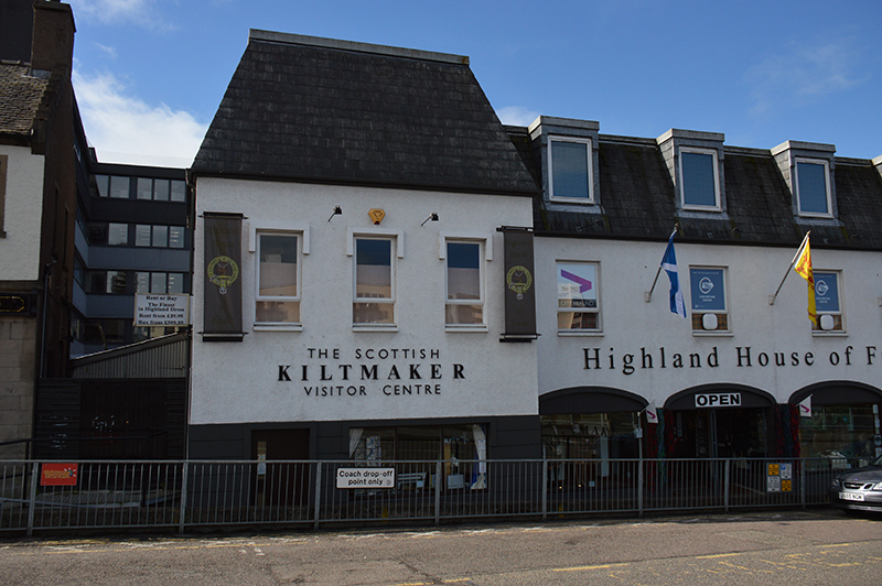 Inverness The Scottish Kiltmaker Visitor Centre © 2012 Scotiana