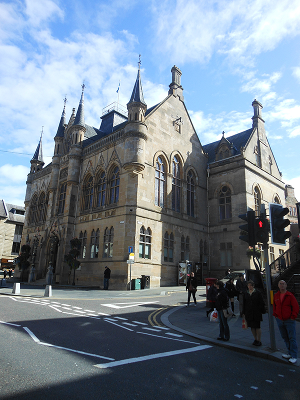 Inverness Town House © 2012 Scotiana