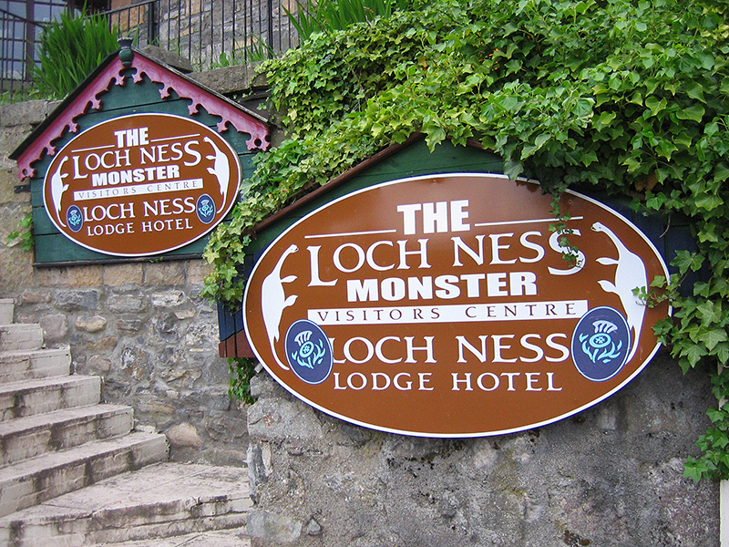 The Loch Ness Monster Visitors Centre © 2006 Scotiana