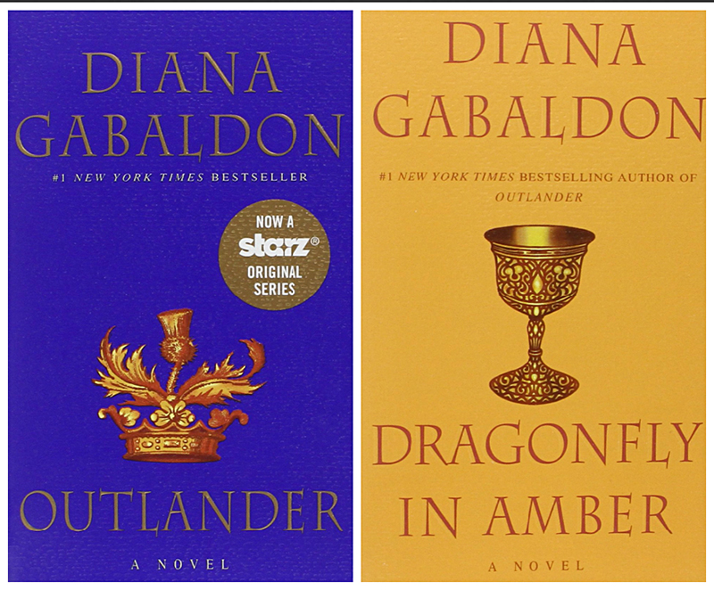 Diana Gabaldon Outlander and Dragonfly in Amber