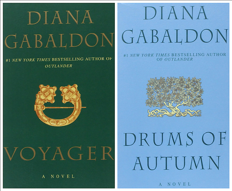 Diana Gabaldon Voyager and Drums of Autumn