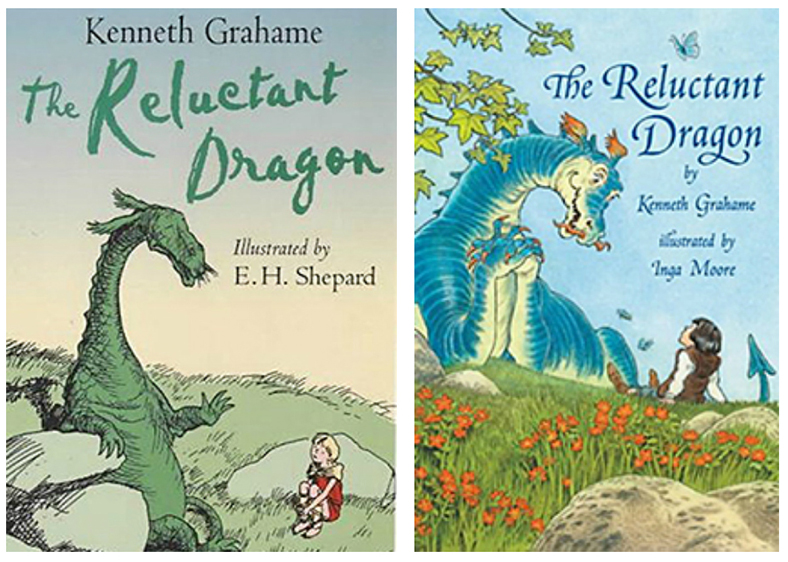 The Reluctant Dragon Kenneth Graham Illustrated 1st published in 1898
