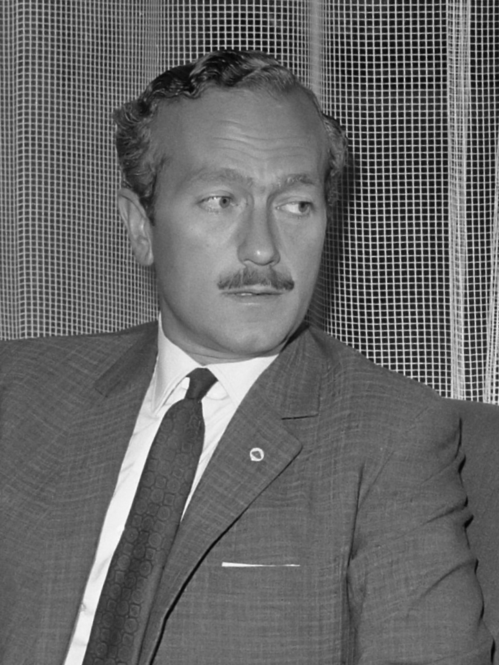Colin Chapman founder of Lotus Cars - 1965