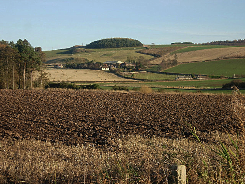 Farmland near Kilmany Fife geograph.org on Wikipedia