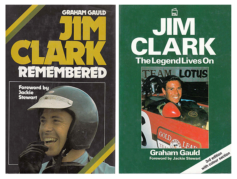 Jim Clark Graham Gauld biographies 1975 - 1989