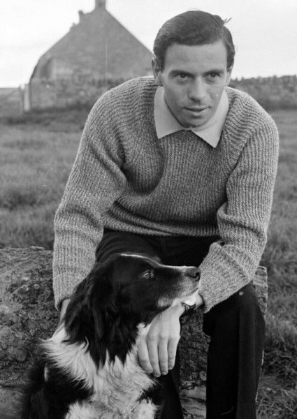 Jim Clark at his Berwickshire Farm from Hiro on Pinterest Source The Berwickshire News January 2014