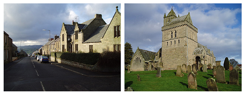 Parish Kirk, Chirnside, Berwickshire by Kevin Rae Source Wikipedia