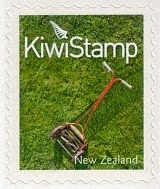 lawn mower kiwi postage stamps new zealand 2009