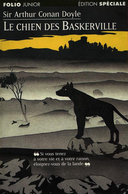 Le chien des Baskerville Sir Arthur Conan Doyle Gallimard Jeunesse 1997