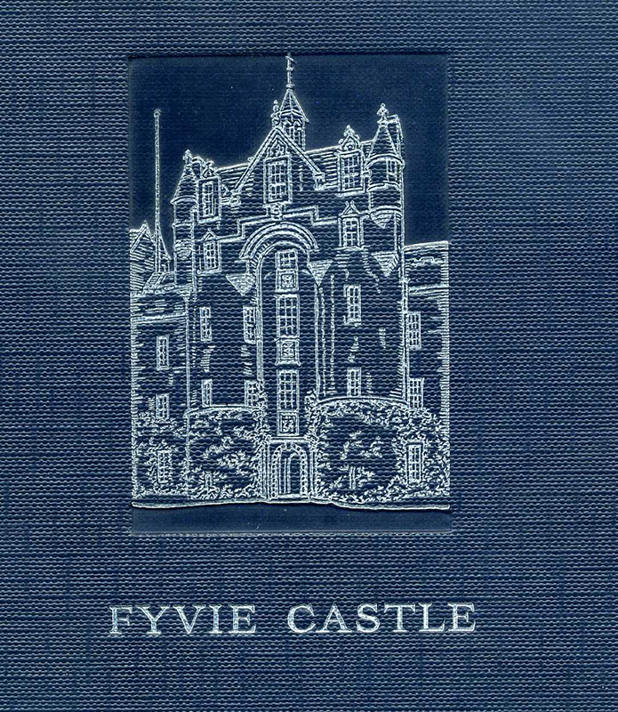 Fyvie castle AMW Stirling 1928 edition detail cover