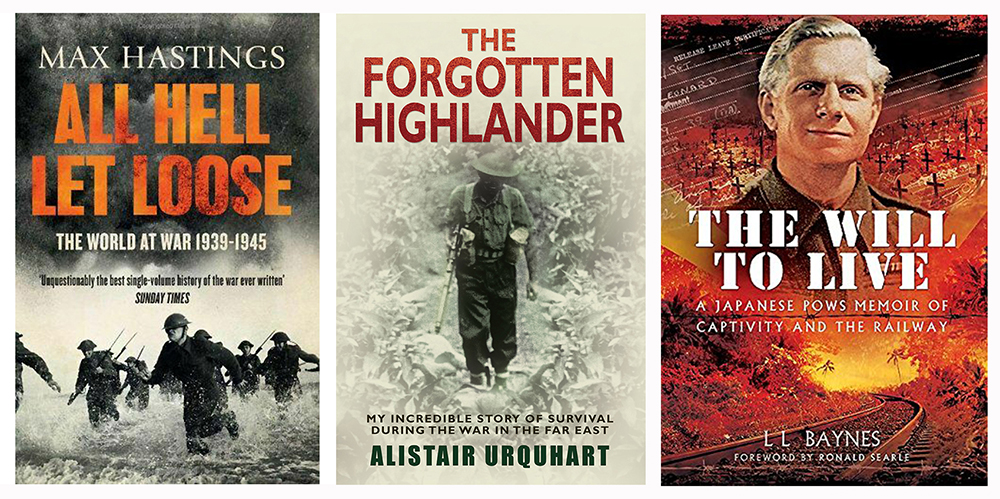 All Hell Let Loose The Forgotten Highlander The Will to Live Scotiana triptych