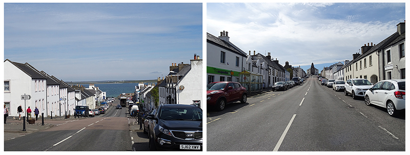 Bowmore Main Street Islay Scotland © 2015 Scotiana