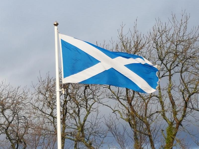 Scottish Saltire © 2019 Scotiana