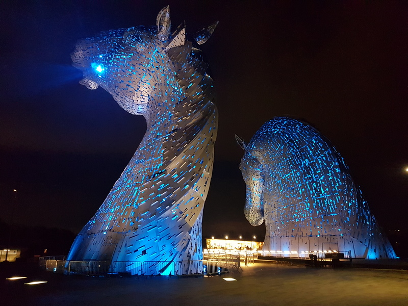 The Kelpies © 2019 Scotiana