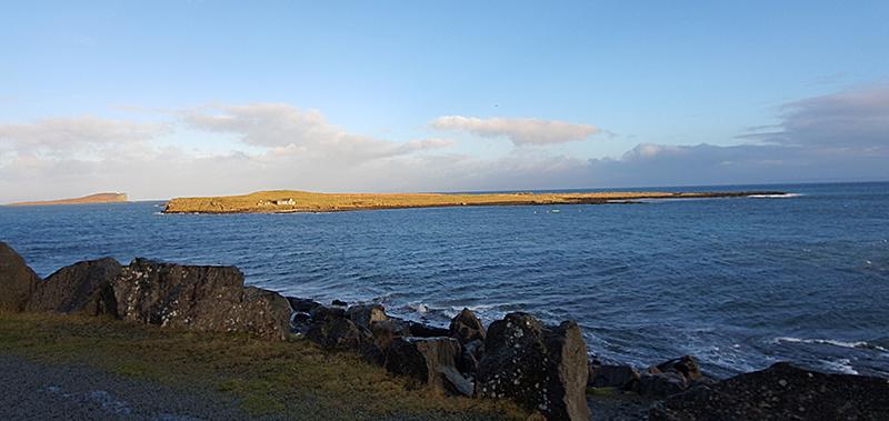 Staffin Island from the An Corran beach Quiraing Skye © 2020 Scotiana