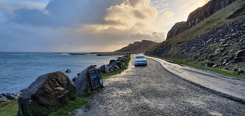 The An Corran beach Quiraing Skye © 2020 Scotiana