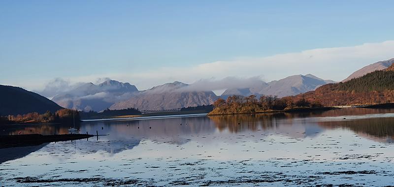 Loch Leven winter 2019-2020 © 2019Scotiana