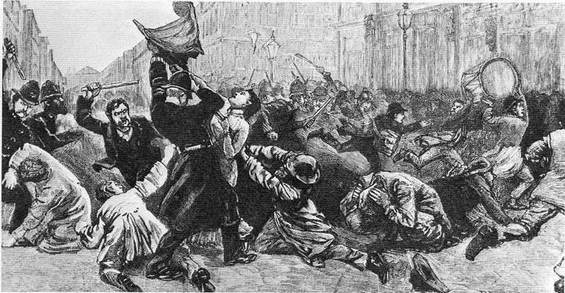 1887 Bloody Sunday London
