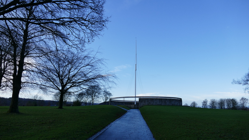 Bannockburn battlefield Memorial in Stirling © 2020 Scotiana