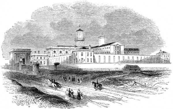 Pentonville prison in 1842 Wikipedia