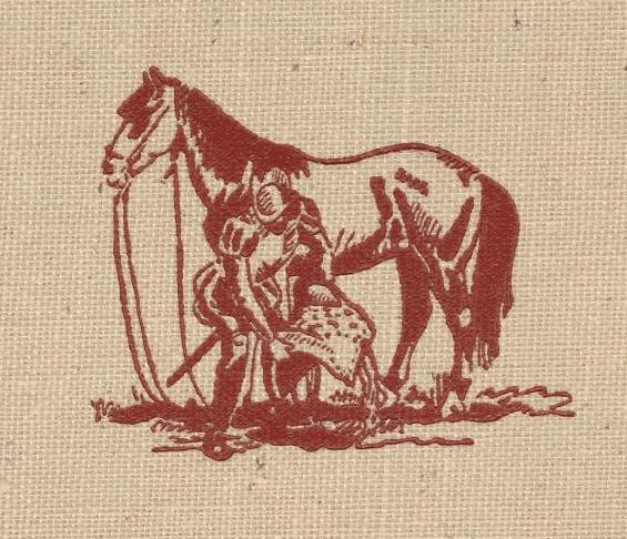 The Horses of the Conquest R.B. Cunninghame Graham cover illustration