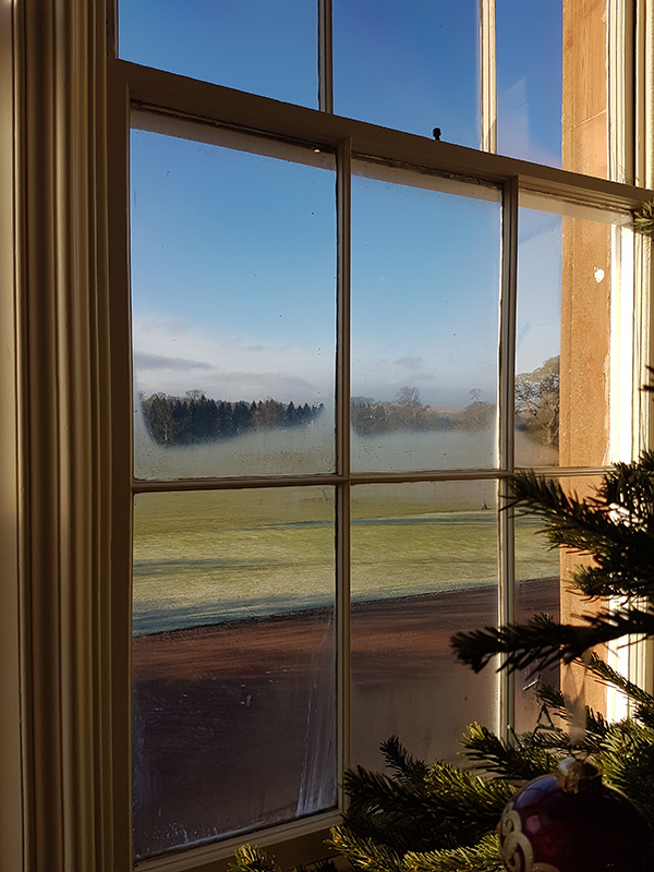 Thirlestane Castle drawing-room window © 2019 Scotiana