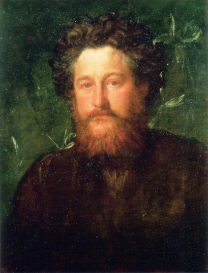 William Morris portrait by George Frederic Watts 1870