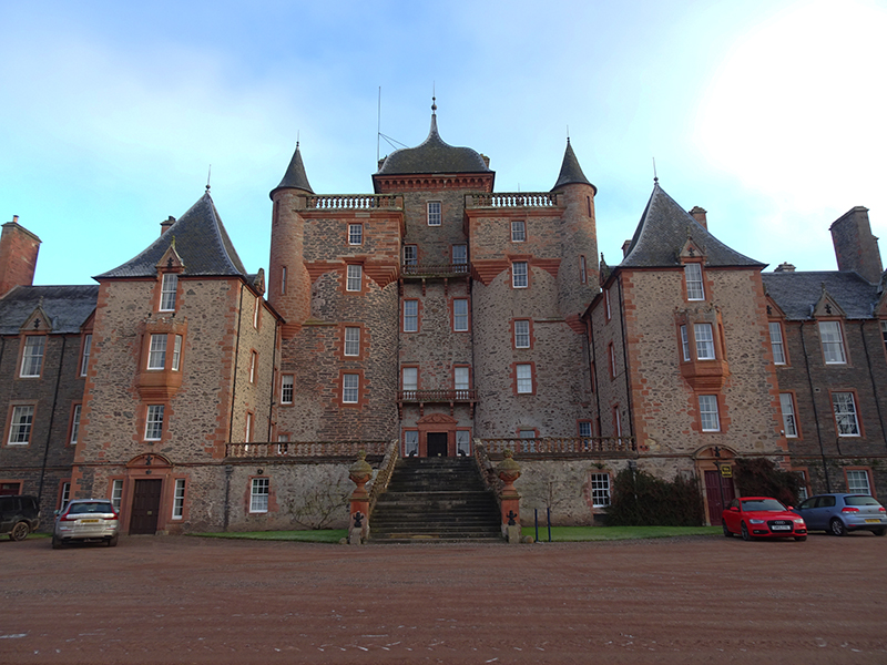 Thirlestane Castle façade © 2019 ScotianaA