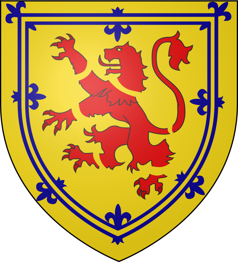 Arms of the Earl of Lauderdale Chief of Clan Maitland