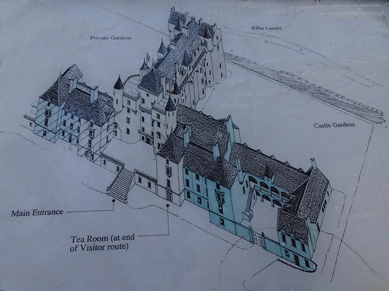 Thirlestane Castle 3D plan DSC02795