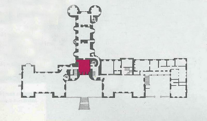 Thirlestane Castle Entrance Hall Thirlestane brochure plan