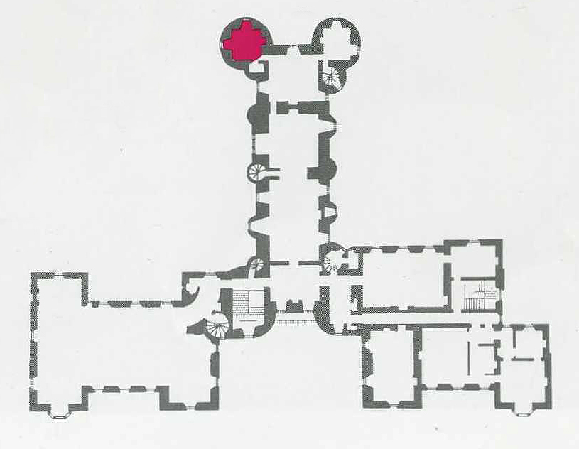 Thirlestane Castle brochure Bonnie Prince's Charlie Room plan