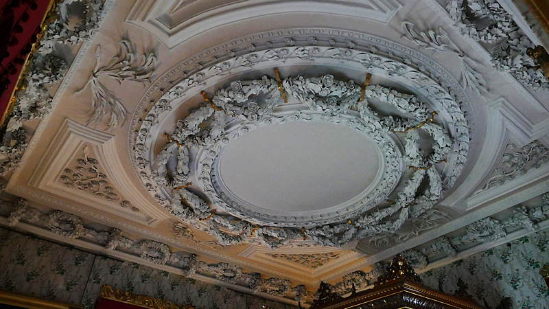 Thirlestane Castle the Duke's Room ceilings © 2019 Scotiana