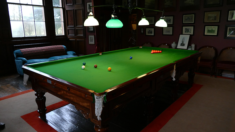 Thirlestane Castle the billiards room © 2019 Scotiana