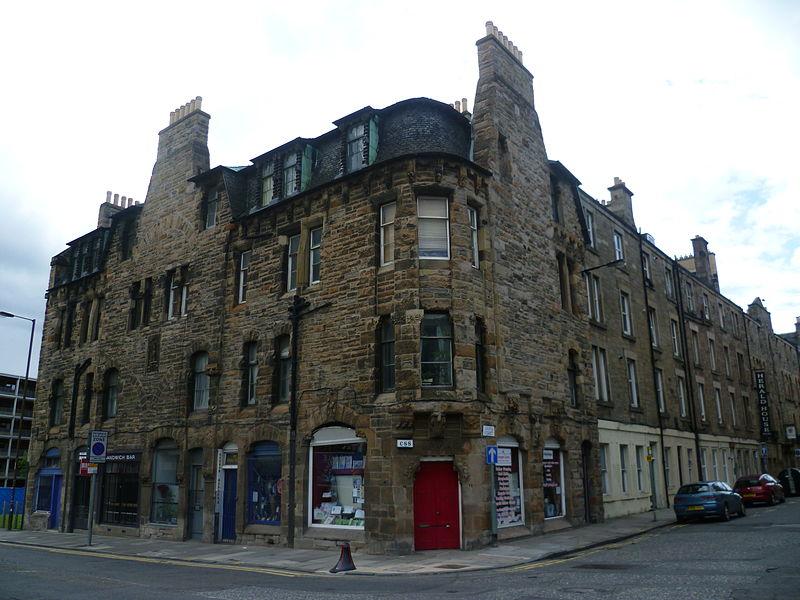 Fountainbridge tenement Edinburgh