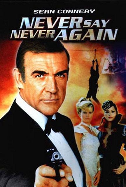 Never Say Never Again Sean Connery James Bond