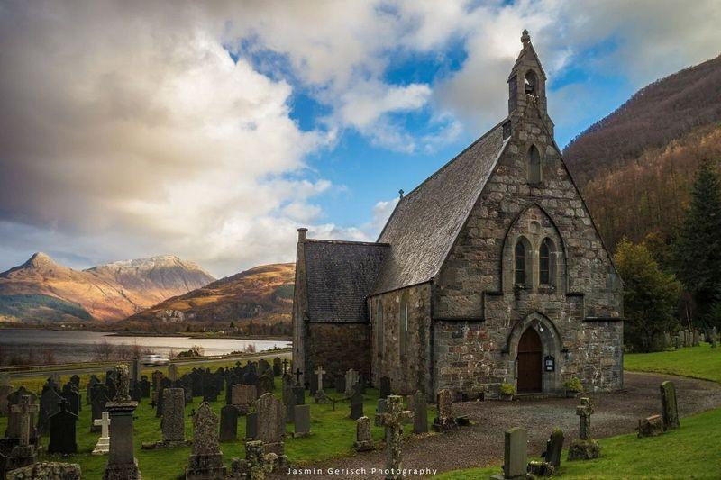 Ballachulish St John's Church - Jasmin Gerish Photography on Pinterest
