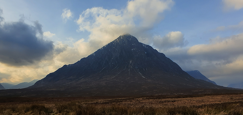 Buachaille Etive Mor in the Highlands of Scotland © 2020 Scotiana