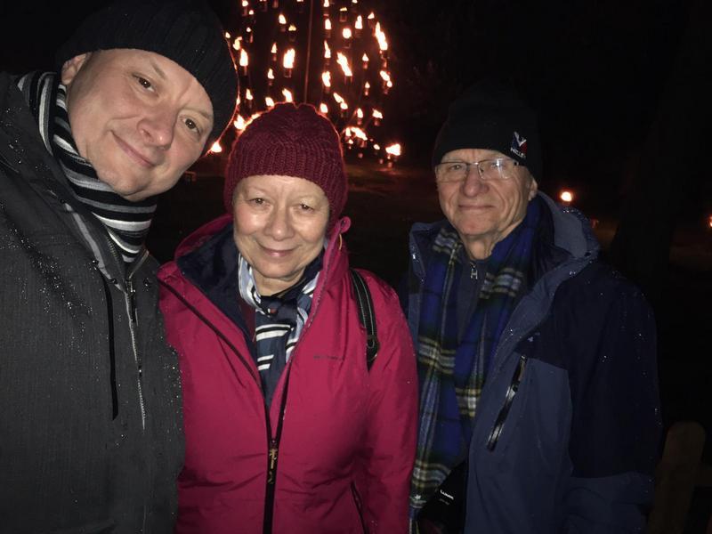 Christmas in Edinburgh -The French trio © 2019 Scotiana