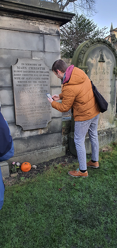 Edinburgh Harry Potter Tour Greyfriar's Kirkyard © 2019 Scotiana