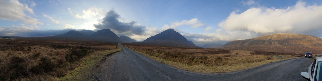 Glen Etive Road Highlands of Scotland © 2020 Scotiana