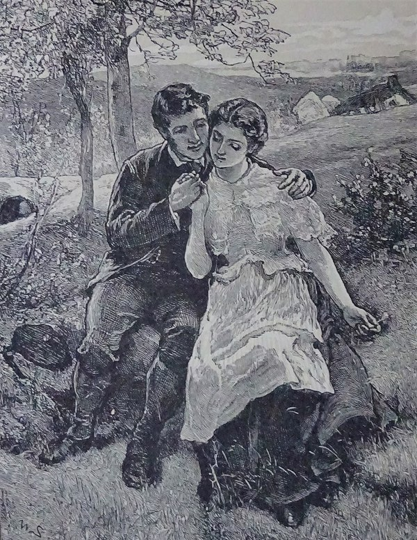 A Victorian version of Robert Burns with Jean Armour 1878
