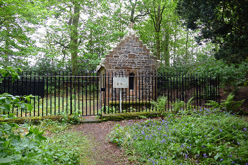 Burns Hermitage at Friars Carse Hotel © 2015 Scotiana